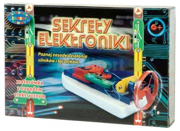 Sekrety Elektroniki - motorówka z napędem elektrycznym.