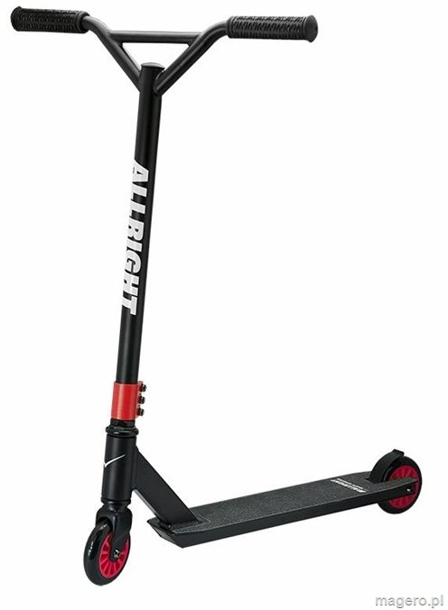 HULAJNOGA STUNT ALLRIGHT PROSKATE BLACK/RED