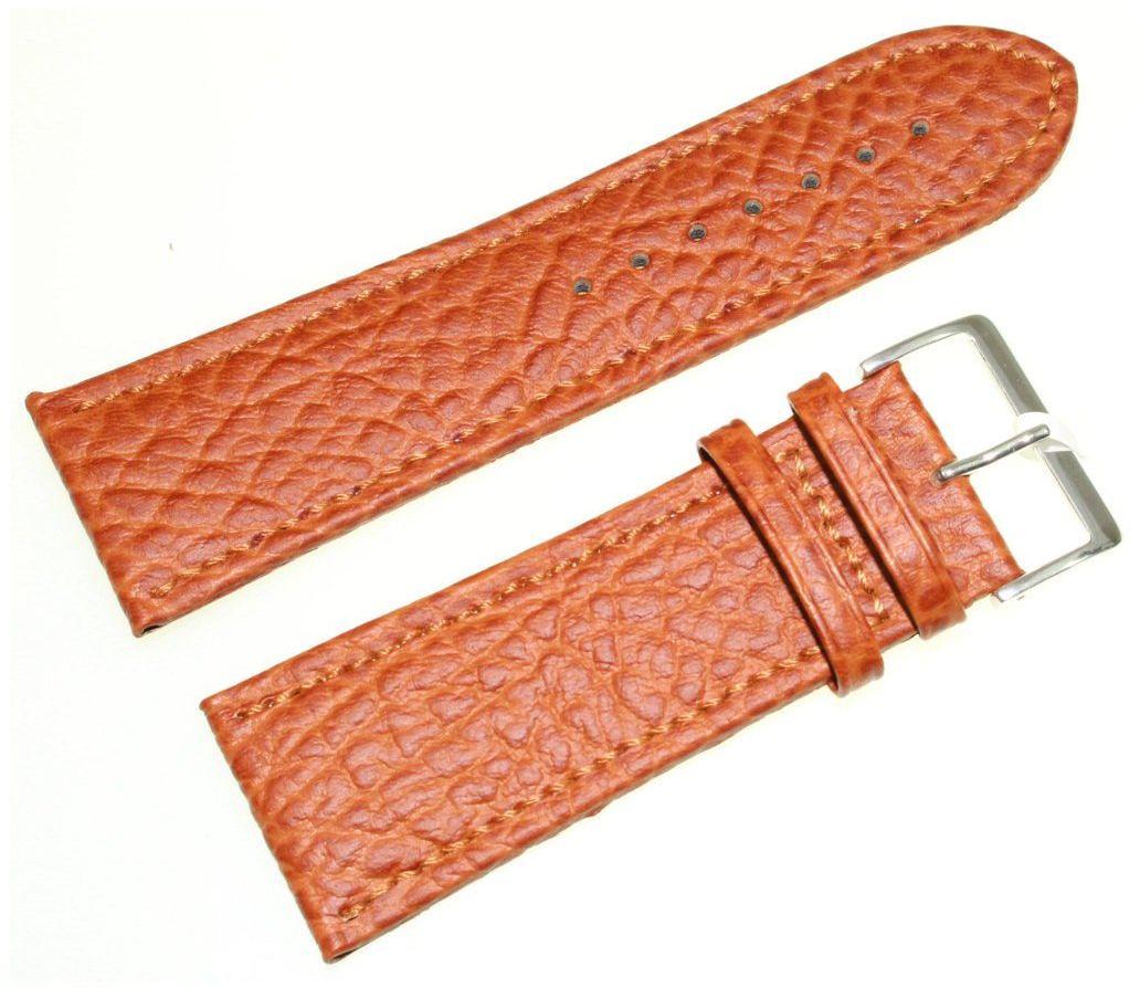 Skórzany pasek do zegarka 30 mm JVD R22003-30