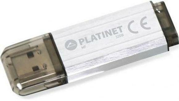 Platinet V-Depo 32GB USB 2.0 (srebrny)