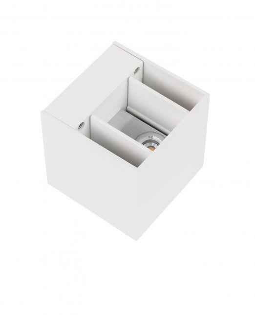 Kinkiet Cube 451783 Oxyled oprawa biała góra dół