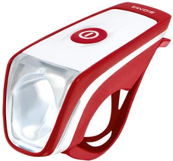 SIGMA lampka przednia SIGGI czerwona,4016224172818