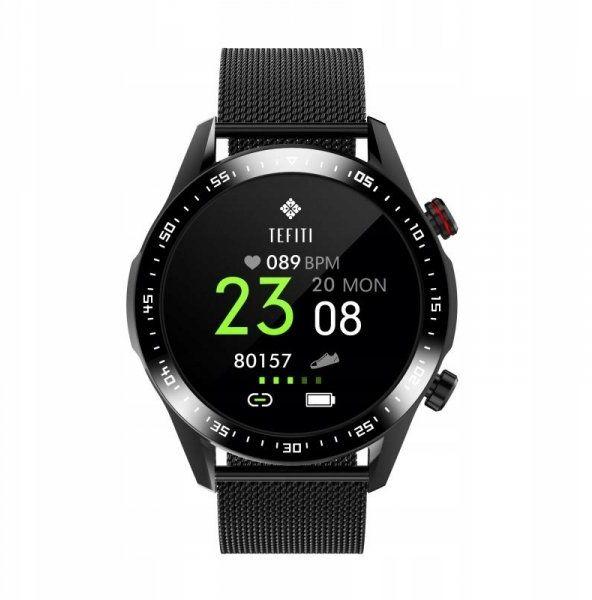 Smartwatch męski Farrot E12 rozmowy telefoniczne czarny