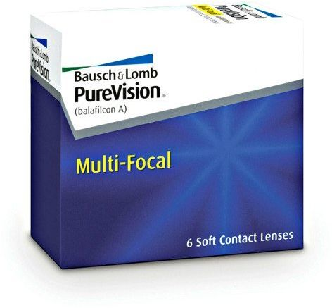 Soczewki PureVision MultiFocal 6szt. - High