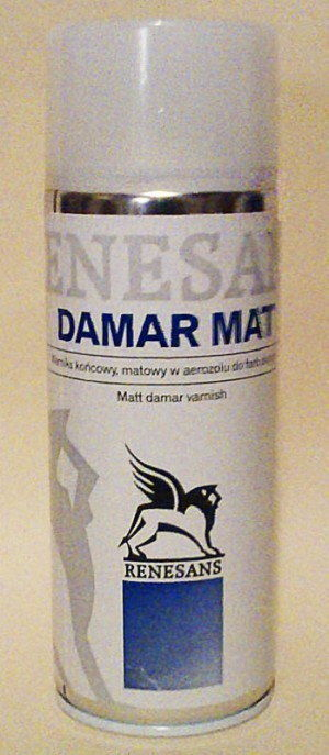 Werniks Damarowy Matowy Renesans 400 ml (Spray)