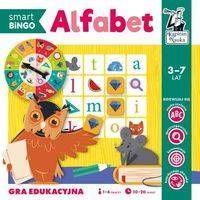 Gra edukacyjna Alfabet Smart Bingo Kapitan Nauka - Izabela Gołaszewska