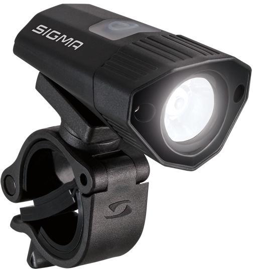 SIGMA lampka przednia BUSTER 100 czarna,4016224188000
