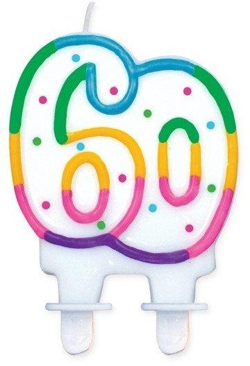 Świeczka 60 kolorowa PF-SCK60