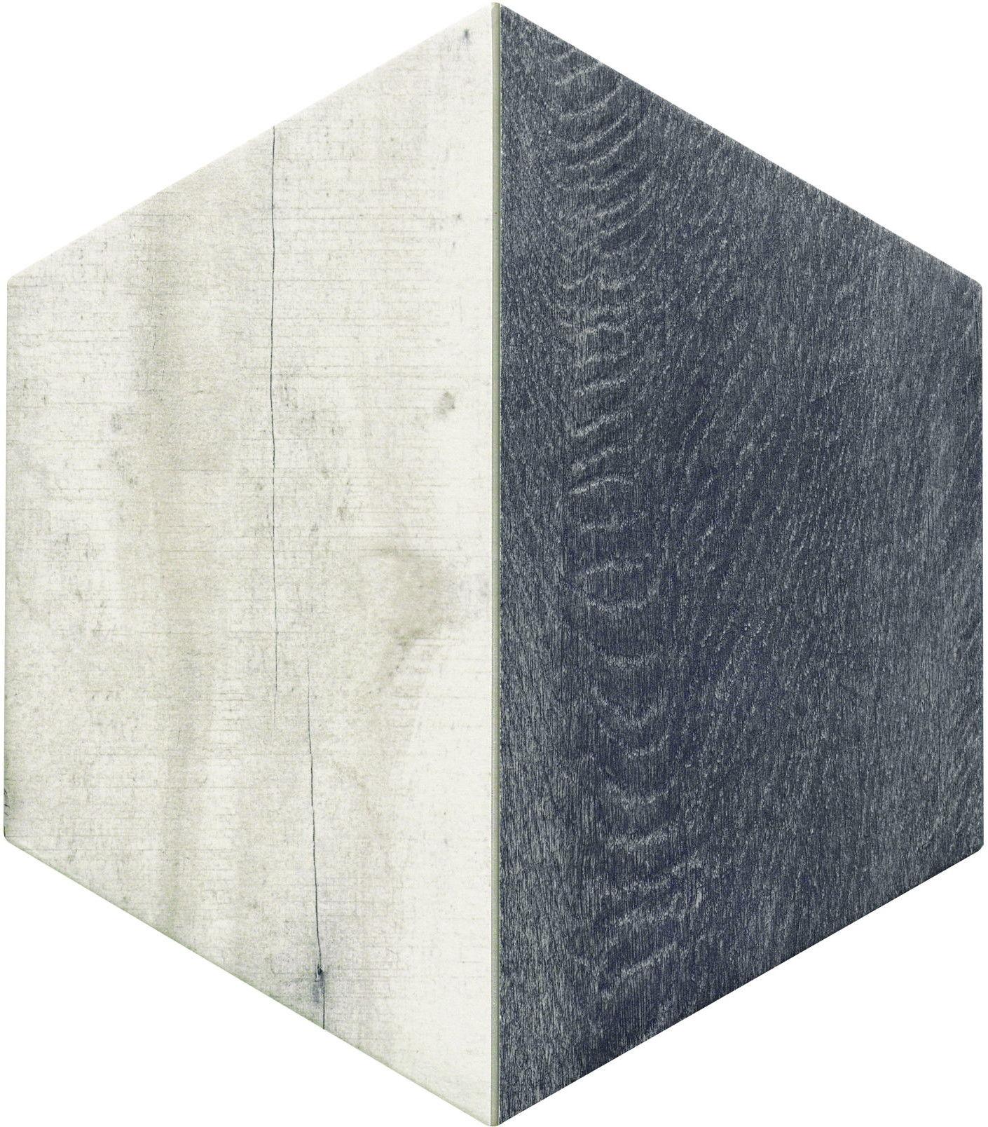 Trapez Wood Ash 28,5x33 płytki heksagonalne