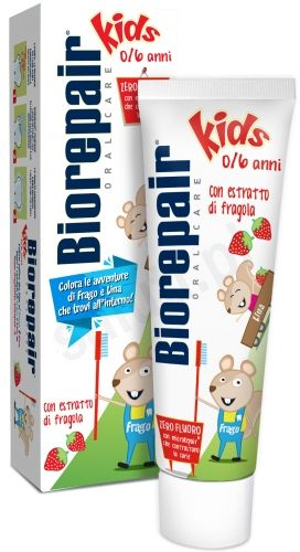Pasta Ochronna Biorepair Kids- Bez Fluoru