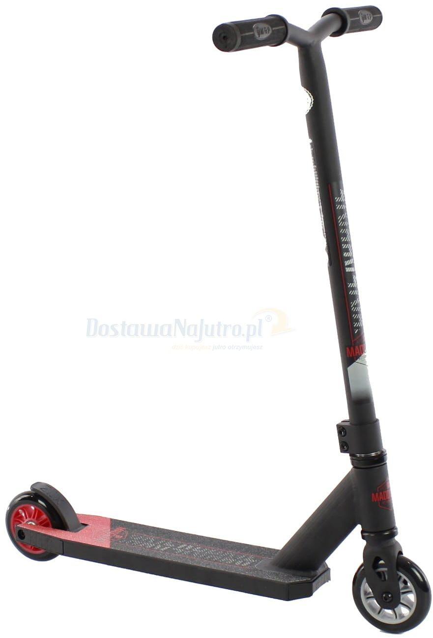 Hulajnoga wyczynowa Stunt Carve Rookie MGP Madd Gear czerwono-czarna
