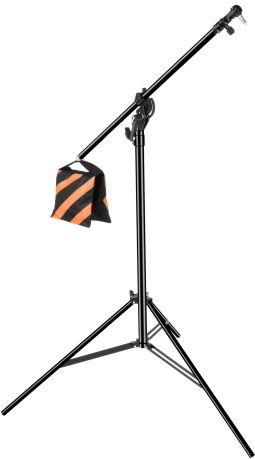 "Camrock LS-523 - statyw oświetleniowy typu ""boom"", 117-375cm, udźwig 5kg"