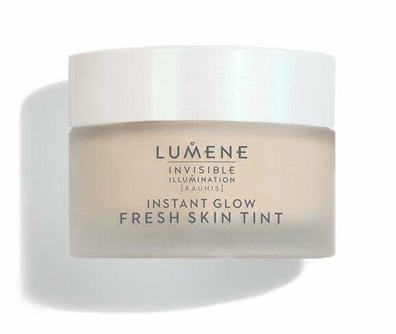 Lumene Invisible illumination Instant Glow Fresh Skin Tint Rozświetlająco-tonujący tint do twarzy Universal DARK 30ml