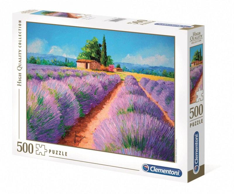 Puzzle 500 elementów HQ Zapach lawendy