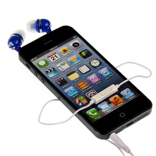 Słuchawki SKINK, niebieskie