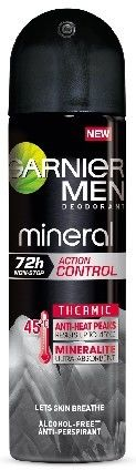 Garnier Men Mineral 72h dezodorant w sprayu action control thermic 150ml