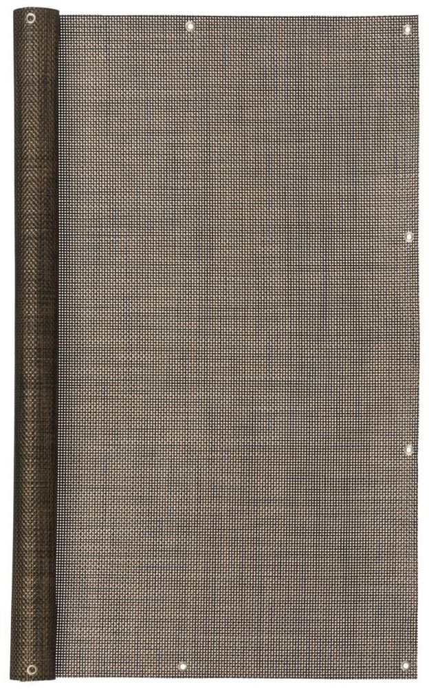 Mata osłonowa 3 m x 100 cm brązowa TESA