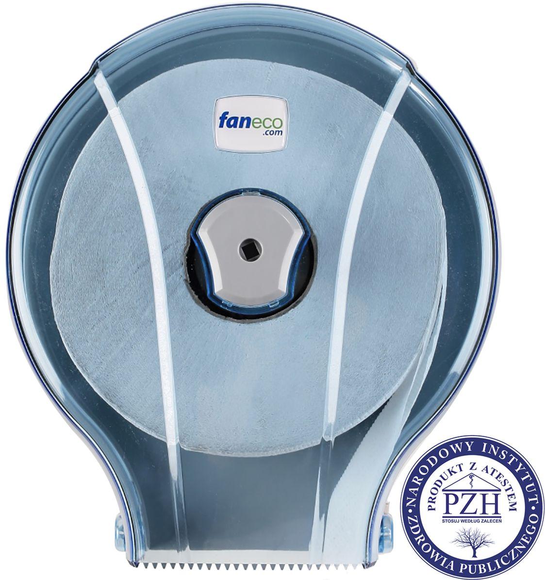 Pojemnik na papier toaletowy Faneco JET S Midi plastik niebieski