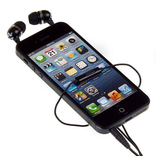 Słuchawki SKINK, czarne