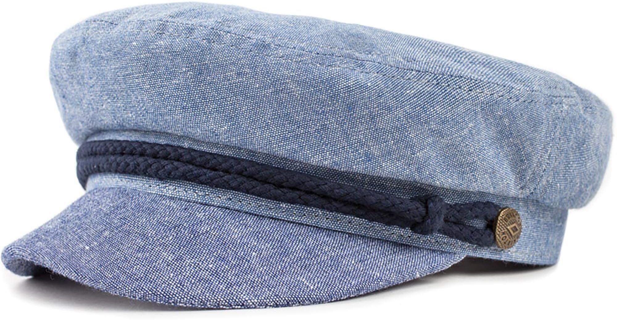 kaszkiet BRIXTON Fiddler Cap Light Blue/Navy
