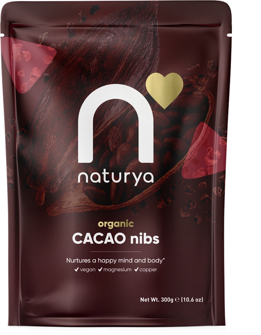 Naturya BIO Łuskane ziarna kakaowca 300 g