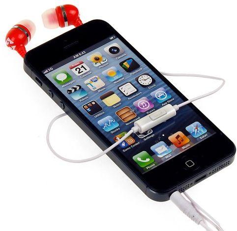 Słuchawki SKINK, czerwone