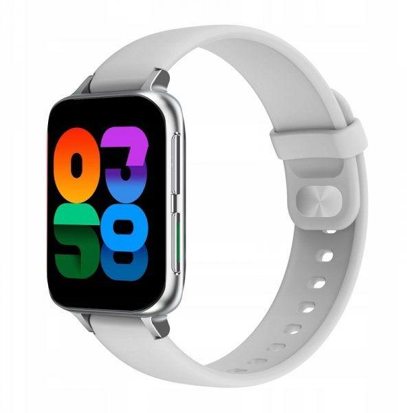 Smartwatch Farrot DT93 odbieranie połączeń szary