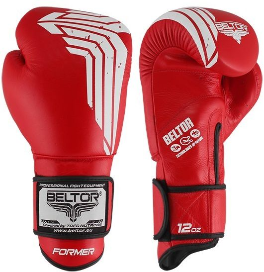 Beltor rękawice bokserskie FORMER Czerwone
