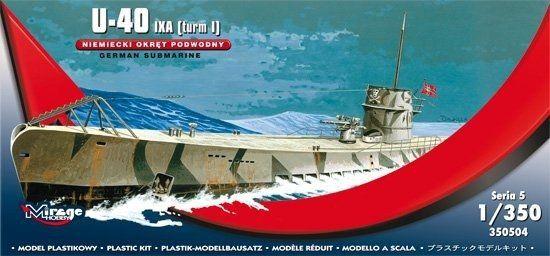 Niemiecki Okręt Podwodny U40