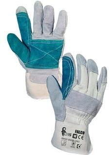 Rękawice robocze FALCO wzmacniane skórą CXS