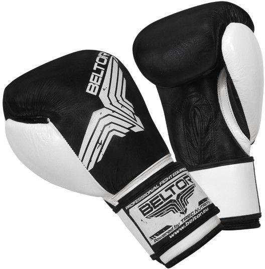 Beltor rękawice bokserskie Pro-Fight Czarne