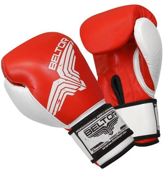 Beltor rękawice bokserskie Pro-Fight Czerwone