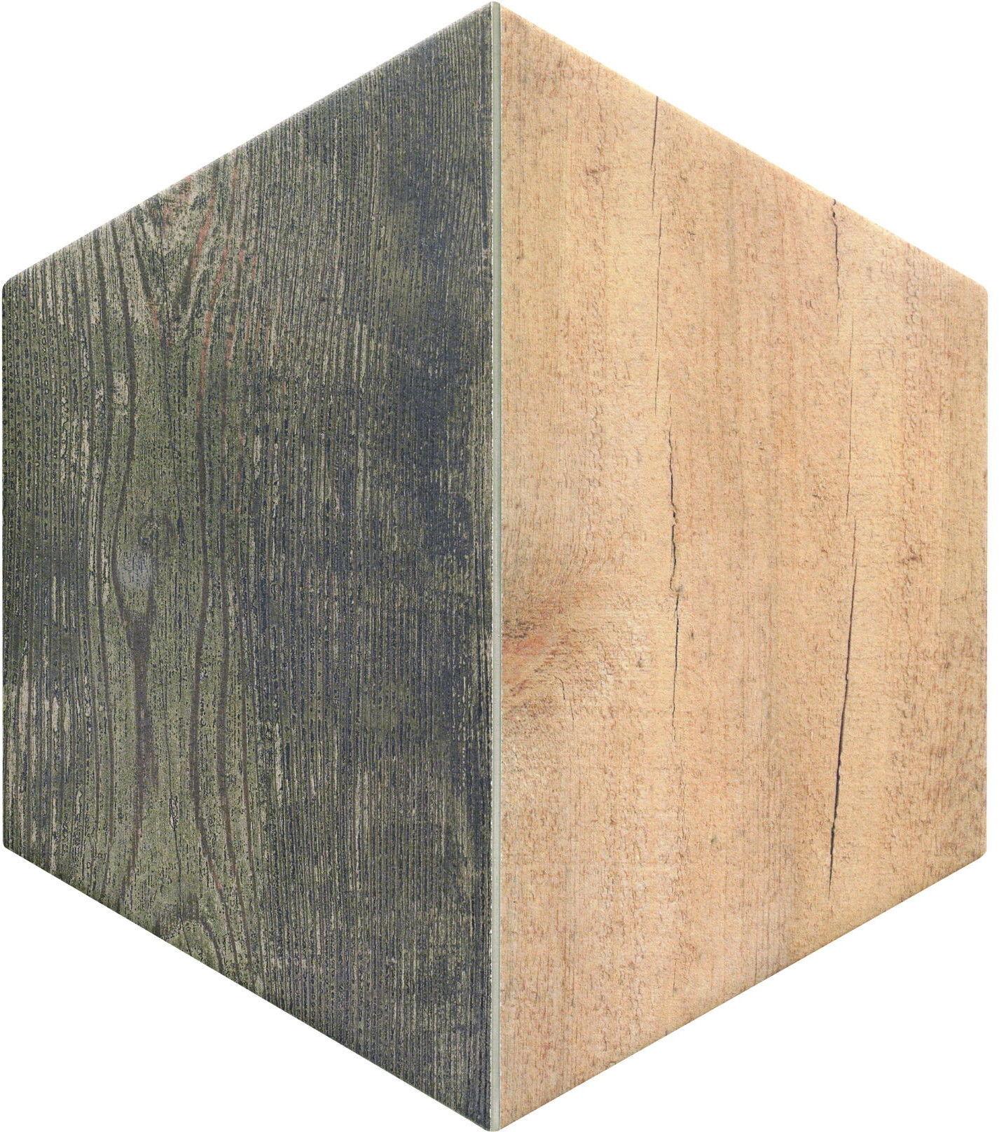 Trapez Wood Oak 28,5x33 płytki heksagonalne