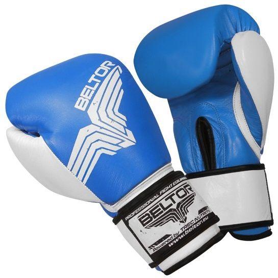 Beltor rękawice bokserskie Pro-Fight Niebieskie