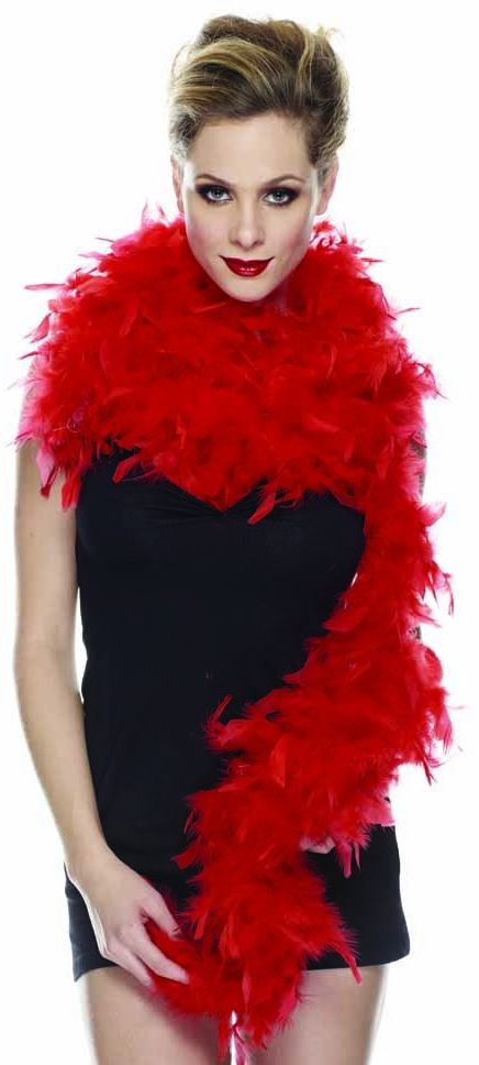 Rubie''s it10466  Boa Red 2 metry, 70 g, jeden rozmiar
