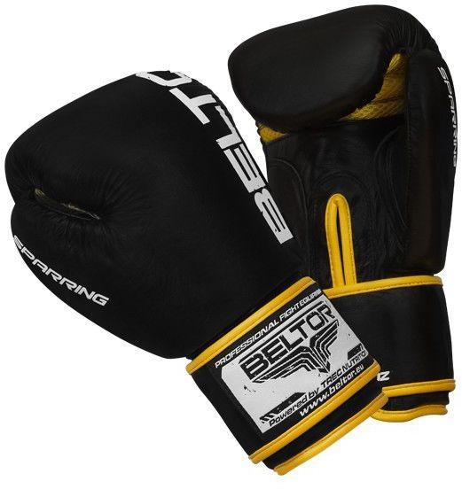 Beltor rękawice bokserskie Sparring Czarne