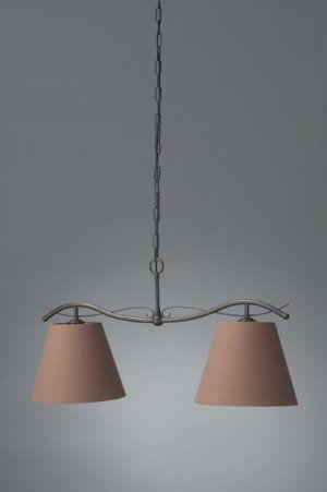 Philips Elmore 37670/86/16 promocja LAMPA WISZĄCA ABAŻURY BRĄZ