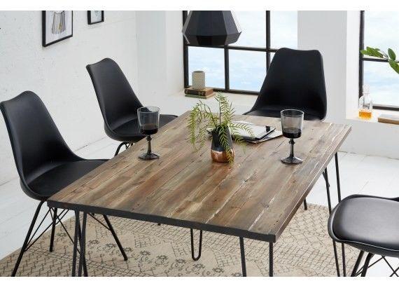 Stół do jadalni Rac 120 cm brązowy
