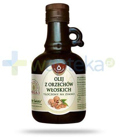 Oleofarm olej z orzechów włoskich tłoczony na zimno, płyn 250 ml [Data ważności 31-01-2022]