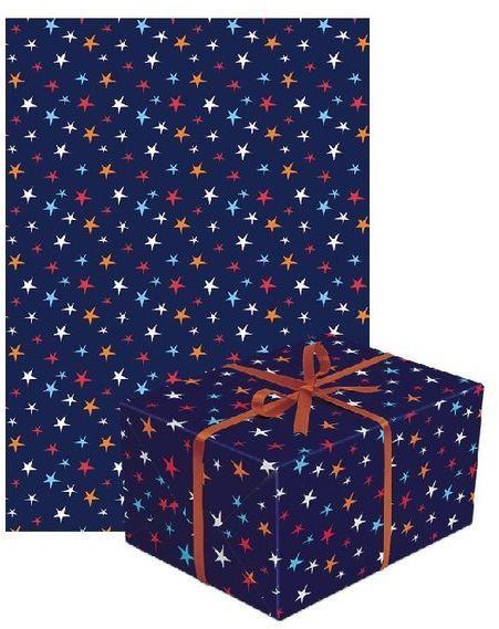 Papier do pakowania prezentów gwiazdki 1 rolka 70x200cm PAPIER-8