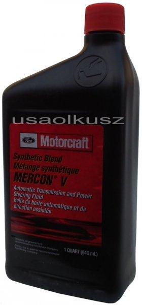Syntetyczny olej automatycznej skrzyni biegów Motorcraft MERCON V 1l Ford