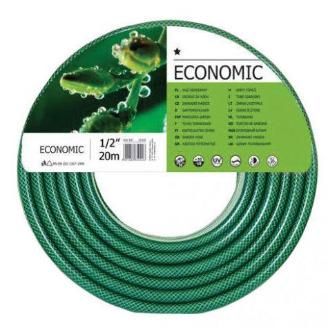 """CF10001R Wąż ogrodowy z PCW fi 1/2"""", długość 20m rolka, Economic"""