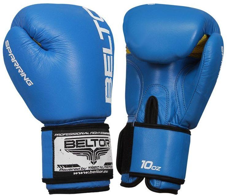 Beltor rękawice bokserskie Sparring Niebieskie