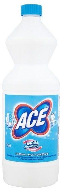 Ace Wybielacz Regular niebieski 1l - Dezynfekcja