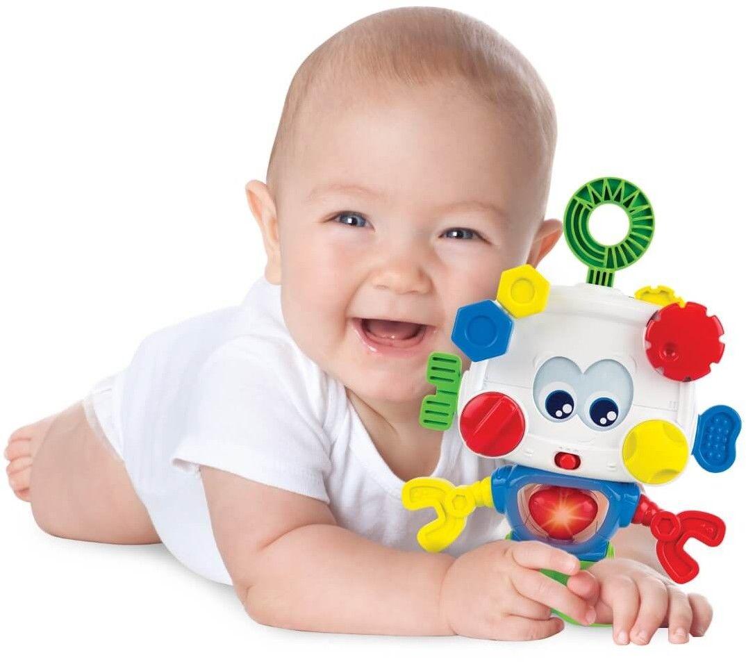 Smily Play AKTYWNY ROBOCIK Przykręć Odkręć 0698