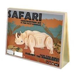 Puzzle 3D Rodney the Rhinoceros ZAKŁADKA DO KSIĄŻEK GRATIS DO KAŻDEGO ZAMÓWIENIA