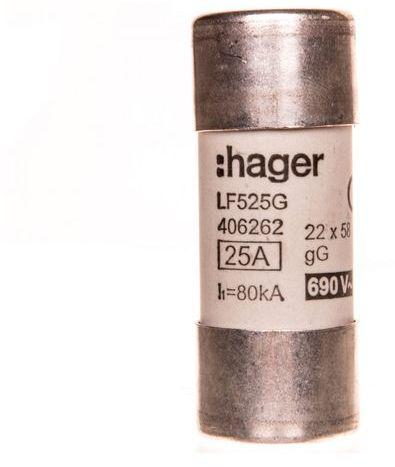 Bezpiecznik cylindryczny BiWtz 22x58 gG 25A LF525G