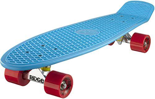 Ridge Deskorolka Big Brother nikiel 69 cm Mini Cruiser, niebieska/czerwona