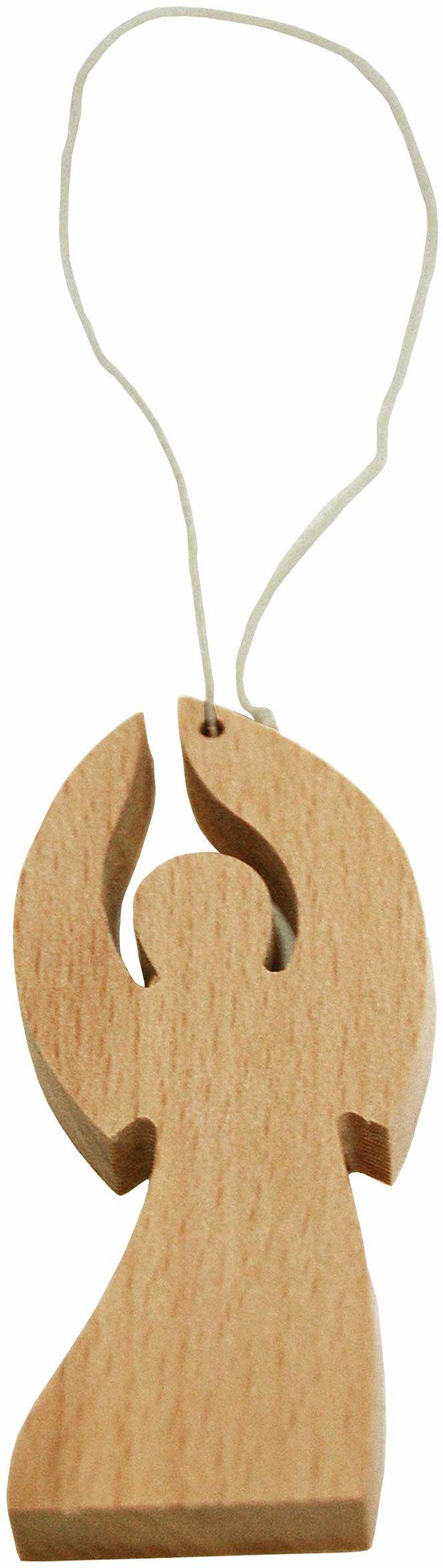 Kollektion Reuter Anioł z drewna bukowego, naturalny, rozmiar uniwersalny