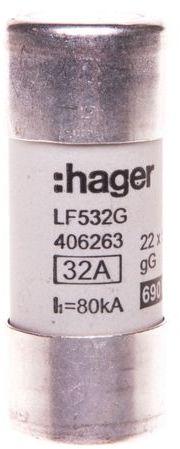 Bezpiecznik cylindryczny BiWtz 22x58 gG 32A LF532G